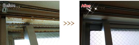 宮崎の窓掃除